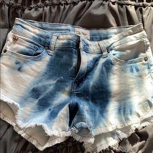 hudson tie dye shorts!